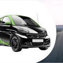 Smart Brabus electric-drive zu vermieten