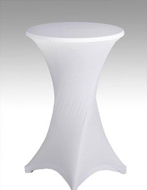 miete 8 zahle 6 wei e stehtische bistrotische 70cm x. Black Bedroom Furniture Sets. Home Design Ideas