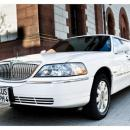 Stretchlimousine Lincoln Town Car wei - neustes Modell