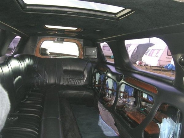 Stretchlimousine - Stretchlimousine mit Chauffeur in Essen