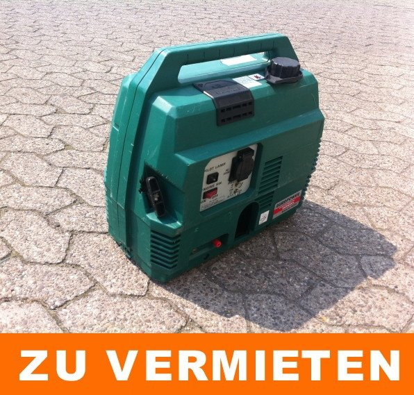 Stromerzeuger Schallged&auml;mpft 0,9 kVA / 1x 230 V