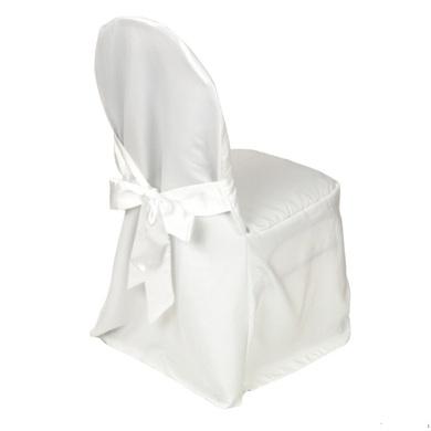 stuhlhusse bankettstuhl bankettstuhlhusse in weiss mit schleifen stuhlhussen 8328747095. Black Bedroom Furniture Sets. Home Design Ideas