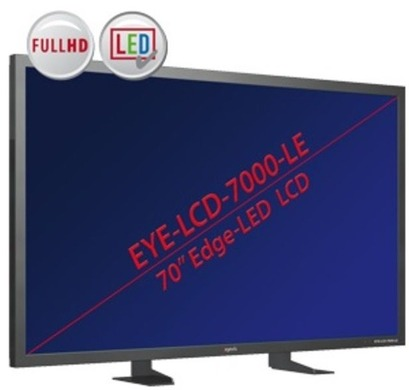 TFT & LCD Flachbildschirm -  LED Displays mit Backlight Beleuchtung NEC X401S, X461S, X551S; Eyevis LHD