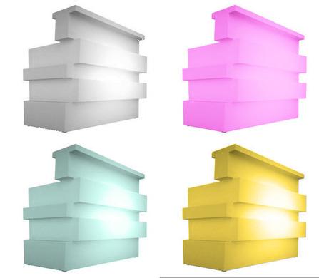 bar theke counter tresen leuchtend theken bars. Black Bedroom Furniture Sets. Home Design Ideas