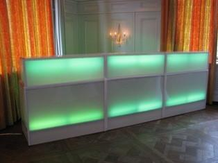 Plexiglas Bar (beleuchtet) Barelement aus Mnchen bei erento.com