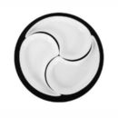 Ying Yang Set ''Unlimited'' (bestehend aus Holzteller �25cm + 3 Ying Yang Sch�lchen)