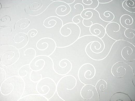 tischdecke tischtuch damast wei mit ornamenten 2 30 x. Black Bedroom Furniture Sets. Home Design Ideas