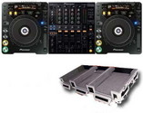 DJ-Set, DJ-Equipment, Pioneer DJM-800 und Pioneer CDJ-1000 MK3