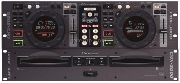 Pioneer CMX-3000 (Doppel-CD-Player, DJ-Player) aus Kln bei erento.com