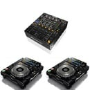 Profi DJ-Set Mischpult + 2 CD-Player Pioneer DJM 850 + CDJ 2000 NXS Nexus Player Mixer DJ Set