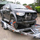 Car Trailer-Tilt bed 2000 Kgs 14ft 2