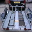 Motor Bike Trailer for 2/3 Bikes