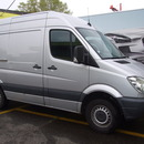 MB Sprinter 300 km frei - 110 PS Diesel - Anh�ngerkupplung - Autoanh�nger
