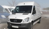 Mercedes Sprinter mittel gro&szlig;. T&auml;glich von 6-22 Uhr ge&ouml;ffnet