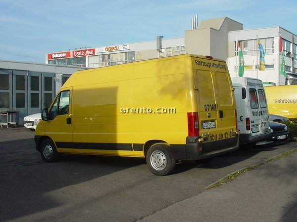 Transporter - Transporter Fiat Ducato HOCH/LANG 