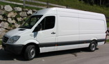 Transporter Mercedes Benz Sprinter 313 lang