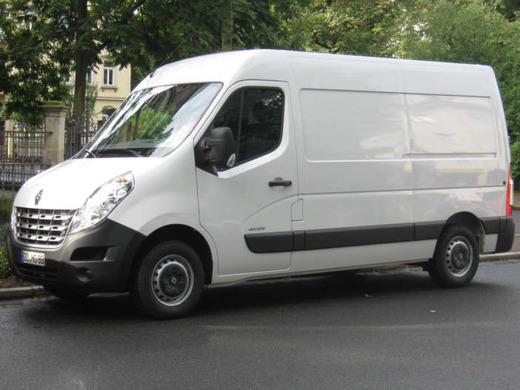 Transporter Renault Master 3,5t Hochdach Sprinter