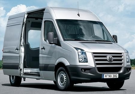 Transporter - VW Crafter Transporter 3,5 t / wie Mercedes Sprinter