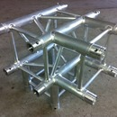 Traverse Truss T-St�ck mit Abgang / 4 Wege Ecke Global Truss, Eurotruss, Milos