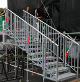 Layher Event System Treppe, auf 2 Meter