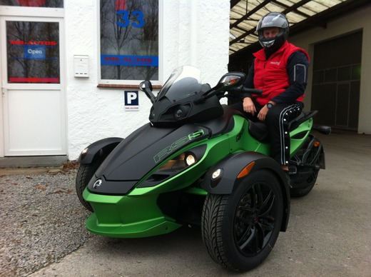 Trike - Trike Bombardier Spyder Can-Am RS-S | Quad | Geschenkidee | action | three-wheel-motorcycle | Roadster | ATV | Führerschein Klasse B