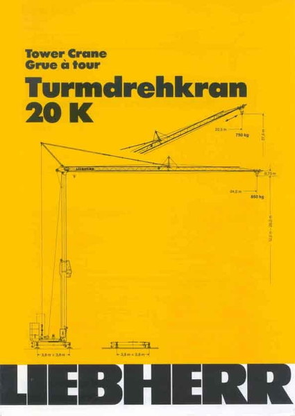 Turmdrehkran - Liebherr 20 K