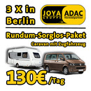 *ADAC Caravan + Zugfahrzeug fr 9 Personen* Knaus Sport 500 FDK 