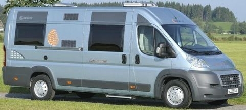 Wohnmobil - Dethleffs &quot;Campscout&quot; mit L&auml;ngsbetten 