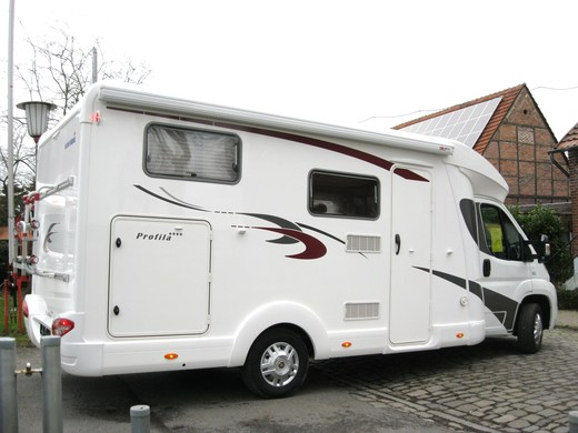 Wohnmobil - EURA MOBIL PROFILA T 650 EB ** MIT EINZELBETTEN, MOBILE FREIHEIT MIETEN, JETZT BEI MS-REISEMOBILE **