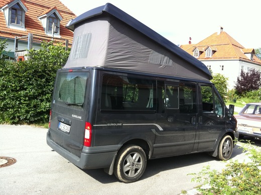 ford transit euroline mit aufstelldach. Black Bedroom Furniture Sets. Home Design Ideas
