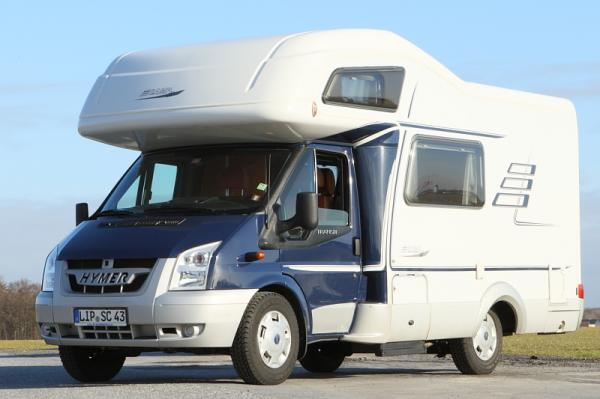 Wohnmobil - Hymer-Camp 512, Baujahr 2009, All Inclusive, Geld-zur&uuml;ck-Garantie