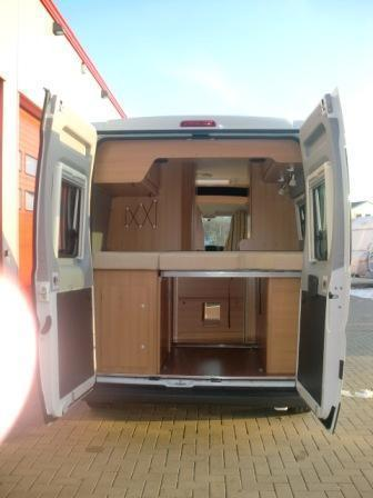 Wohnmobil - Kastenwagen LMC Tourer 59 mit Doppelbett