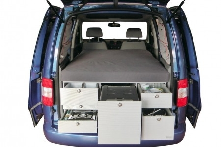 wohnmobil minicamper campingbus vw caddy maxi life bj 2009 images frompo. Black Bedroom Furniture Sets. Home Design Ideas