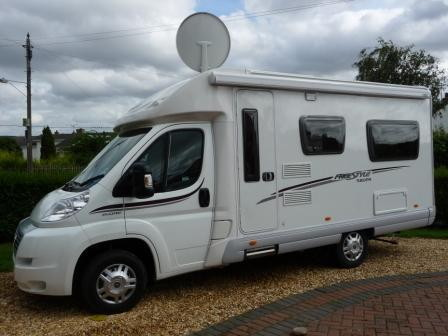 Swift 580PR - 2 Bett- Salisbury