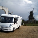 Wohnmobil Hymer Exsis-i 674, ein Mobil der Sonderklasse fr 2-4 Personen. 