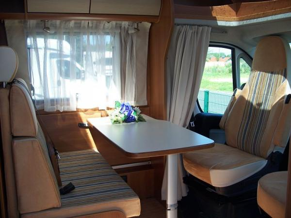 Wohnmobil Teilintegriert Carado T449 ( Hymer) ,130 PS, Klima,Tempomat, Queensbett, Raumbad, uvm.  aus Birlenbach-Fachingen bei erento.com