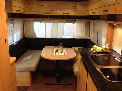 Wohnwagen Dusche Warmwasser : Wohnwagen LMC Style 460 D, Dusche, Warmwasser, Leergewicht 1012 kg