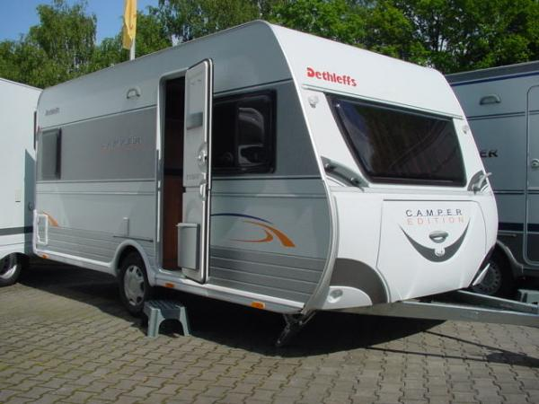 Dethleffs 430DB oder Dethleffs 450 DB o. Dethleffs New Line 410 aus Datteln bei erento.com