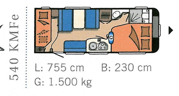 Tabbert Da Vinci 540 DM  Vorzelt auf Wunsch, Wohnwagen