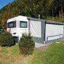 Wohnwagen Knaus Sdwind 750 FKU bis zu 7 Personen im 5 Sterne Campingplatz Aufenfeld im Zillertal, Ferienwohunung, Mobilheim, Camping, Dauerstellplatz, Tirol, Zillertal, sterreich, 