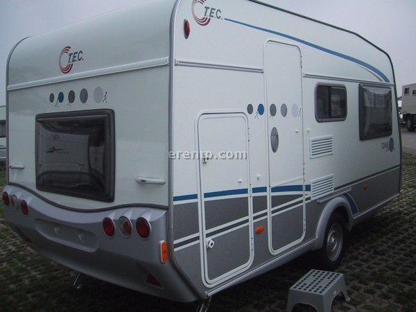 Wohnwagen - Wohnwagen TEC 410 Travelbird Caravan