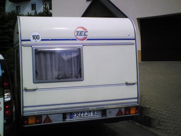 wohnwagen tec siena mit voller ausstattung wohnwagen 3232775599. Black Bedroom Furniture Sets. Home Design Ideas