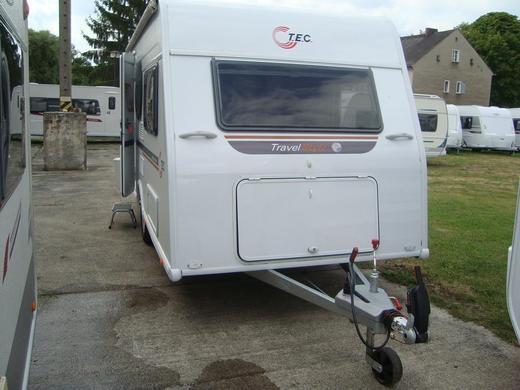 wohnwagen tec travel style 410 k mit etagenbett f r 4 personen wohnwagen 4912008838. Black Bedroom Furniture Sets. Home Design Ideas