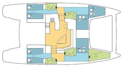 Yacht - Sailing Boat Amazone (5Cab)