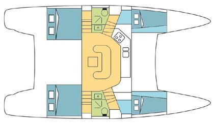 Yacht - Sailing Boat Tchaikovski (4Cab)