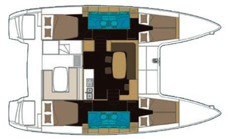Yacht - Sailing Boat Tortuga (4Cab)
