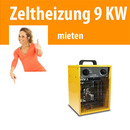 Zeltheizung 9 KW