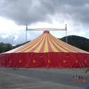 Tent with 2 masts, big top, palace tent, for parties and celebrations /// Europe-wide delivery and installation