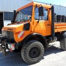 UNIMOG U1400 als Zugmaschine