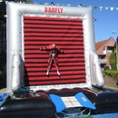 Klettwand mit Trampolin - Spider Web Actionsport